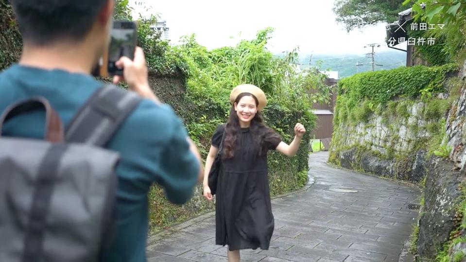 「大分で会いましょう。」Vol.1 保井崇志 (写真家) × 前田エマ (モデル)